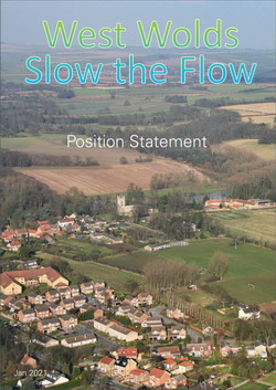 West Wolds Slow The Flow - Position Statement